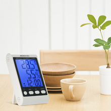 Sale KKmoon Digital Thermometer Hygrometer Temperature Humidity Meter weather station temperature instruments Alarm Clock Backlight