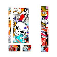 Graffiti Boom Booming Sticker Vape Cover Stickers Suitable For JUUL 2.5D Stereo Film Skin 3M Adhesive for JUUL Skin Sticker(China)