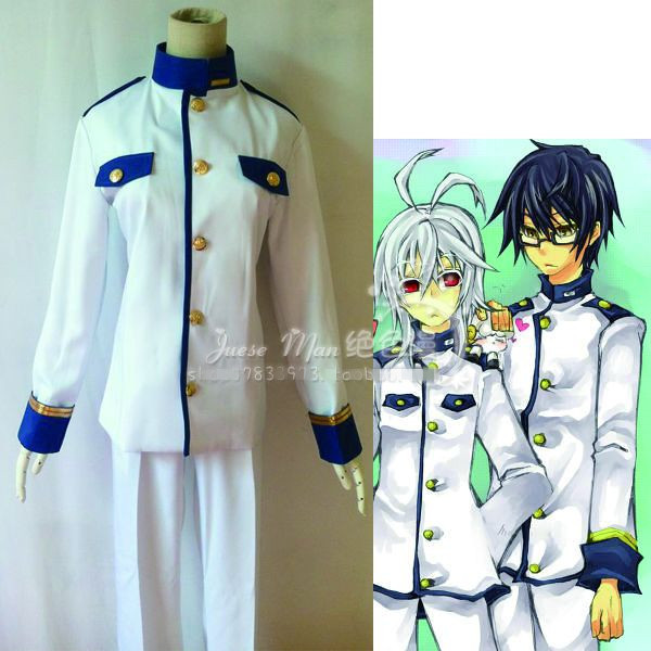 Game Anime Cuticle Detective Inaba Natsuki Cosplay Costume Uniform Suit Any Size NEW