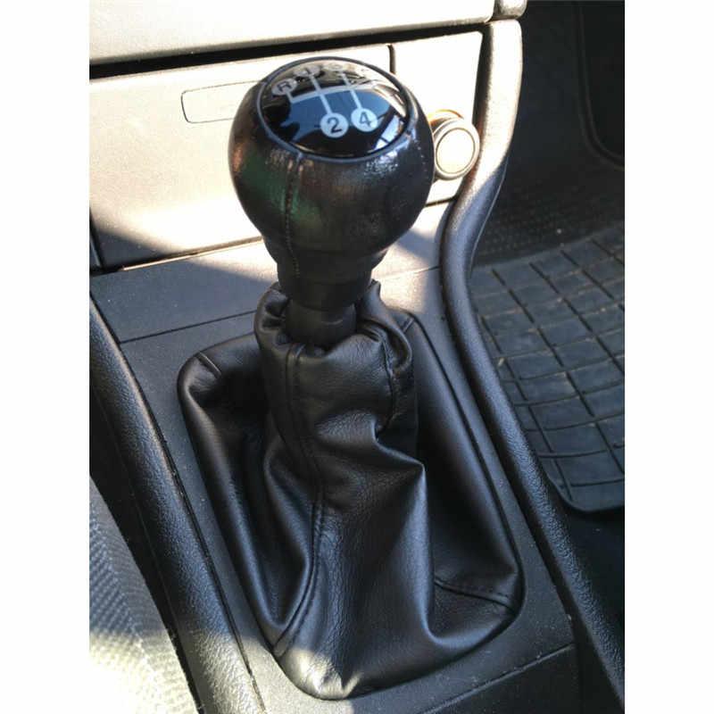 Car Shift Knob Gaitor Boot หนังสำหรับ OPEL ASTRA II G (1998-2010) ZAFIRA A (1999-2006)