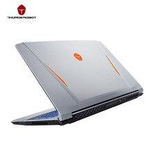 Thunderobot ST PLUS-U Игровые Ноутбуки PC Планшеты NVIDIA GTX1050Ti Intel Core i7 7700HQ 15.6 дюймов 8 ГБ Оперативная память 256 ГБ SSD RGB клавиатура