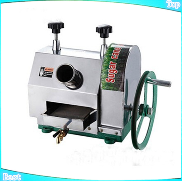 Hot sale Stainless steel manual Sugarcane Juicer Extractor Sugar Cane juice Machine Sugar juicing Machine hand operation rolling manual sugarcane juice press and sugar cane mill crusher sugar cane juicer sugarcane juicing machine