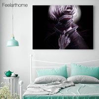 1 Piece Canvas Art Canvas Painting Tokyo Ghoul Comics Posters And Prints Home Decor Wall Pictures