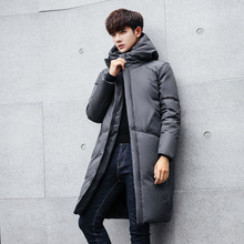 High Quality Parka Men Winter Long Jacket Men down Padded Jacket Mens Parka Coat Male Fashion Casual Coats plus size S-5XL rokediss 2017 new winter mens parka clothing men jacket coat with fur hood high quality jackets men plus size vestidos hot sale
