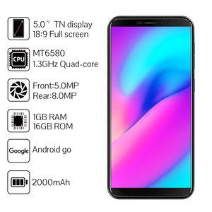 "Image 2 - Cubot J3 Face ID Cellphone Android Go 1GB RAM 16GB ROM 5.0"" 18:9 Full Screen MT6580 Quad Core Phones Dual SIM Card 2000mAh 3G"
