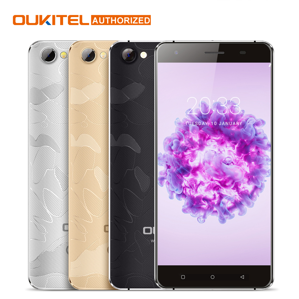 Oukitel C5 Pro 5.0 Inch HD MTK6737 Quad Core Screen Smartphone 2000mAh Android 6.0 Cell Phone 2GB RAM+16GB ROM Mobile Phone