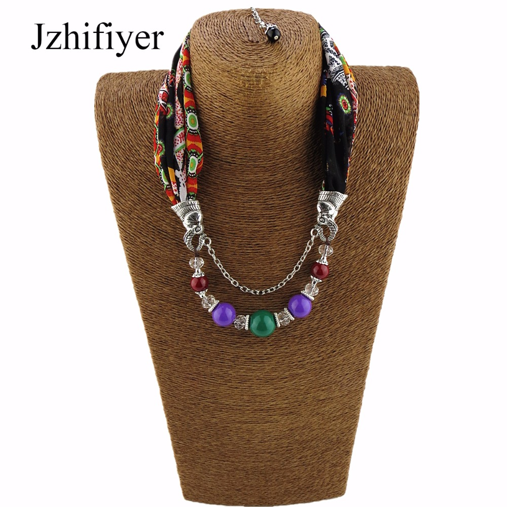 Jzhifiyer feminino inverno pendant scarfs jewellery hijab muffler chiffon scarf women hijab chiffon ring scarfs jewelry shawls in Women 39 s Scarves from Apparel Accessories