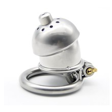 Steel stainless male chastity device cock cage with stealth lock  catheter sound male chastity belt ring sex toys sex products