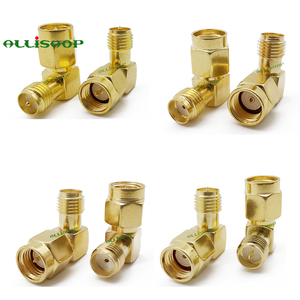 Image 5 - 18Pcs SMA Connector Kits Adapter SMA RP SMA Male and Female RF Coax Coupling Nut Converter For WIFI Antenna Extension Cable