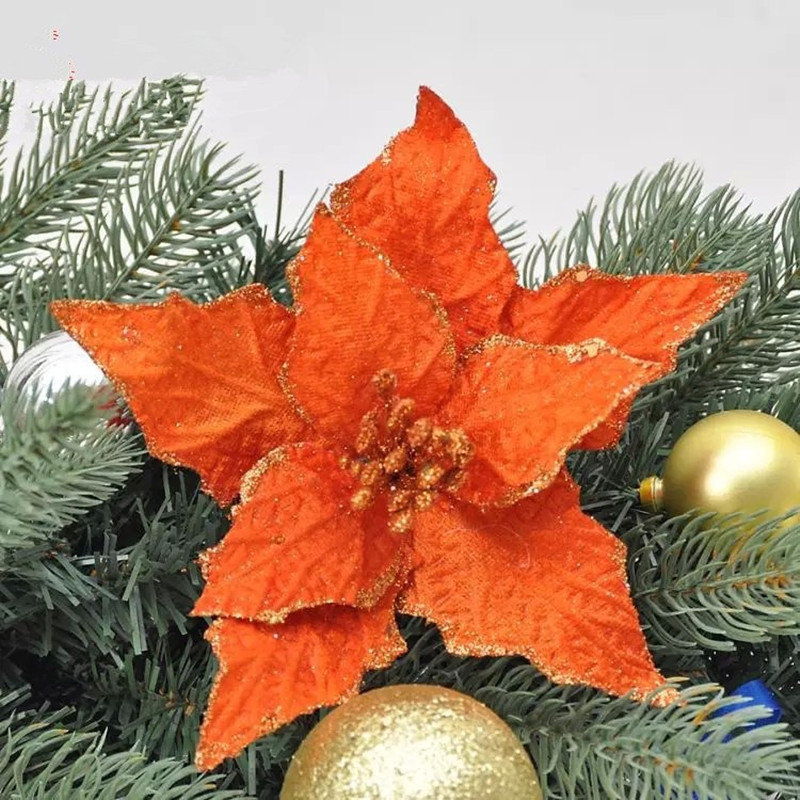 Popular tree orange flowers buy cheap tree orange flowers New flower decoration