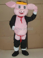 cosplay costumes pig mascot costume adult size pig mascot costume free shipping