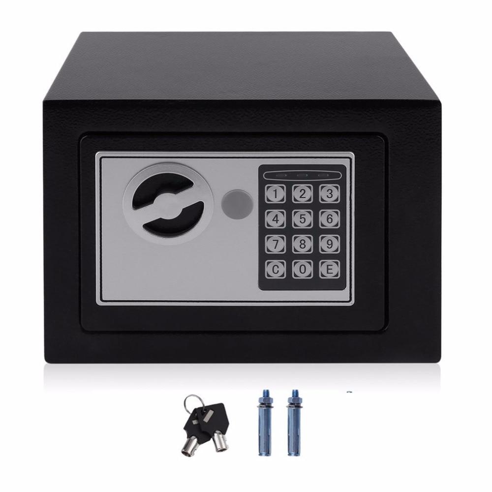 4.6L Professional безопасная коробка домашняя цифровая электронная охранная коробка Домашний офис настенный тип ювелирные изделия деньги Противо...