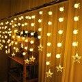 Iluminación de lujo 4 M 20 Línea 0.6 M Cortina de la Secuencia del Carámbano Gota Led Luces de Hadas del Led String Para El Jardín de la Navidad de navidad de La Boda