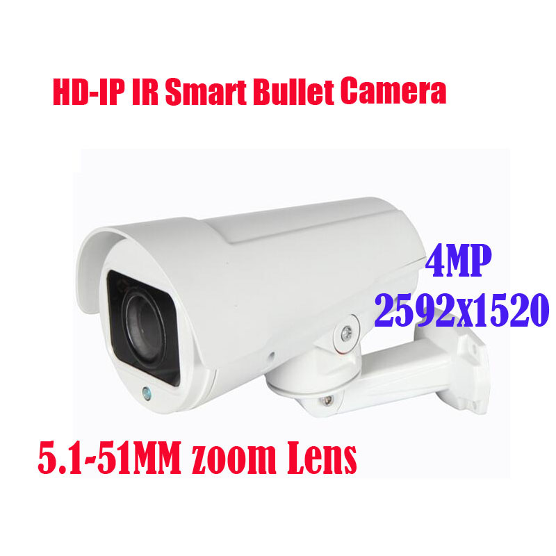 Free shipping New 4MP IR 30M 10x Optical Zoom IP PAN ZOOM Bullet Camera 2592x1520 4MP/ 4.0 Megapixel  5.1~51mm Free shipping New 4MP IR 30M 10x Optical Zoom IP PAN ZOOM Bullet Camera 2592x1520 4MP/ 4.0 Megapixel  5.1~51mm