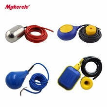 цена на Cable Float Switch Series Water Tank Liquid Level Sensor PP/PVC Material Switches 2-5m Cable Fluid Level Controller