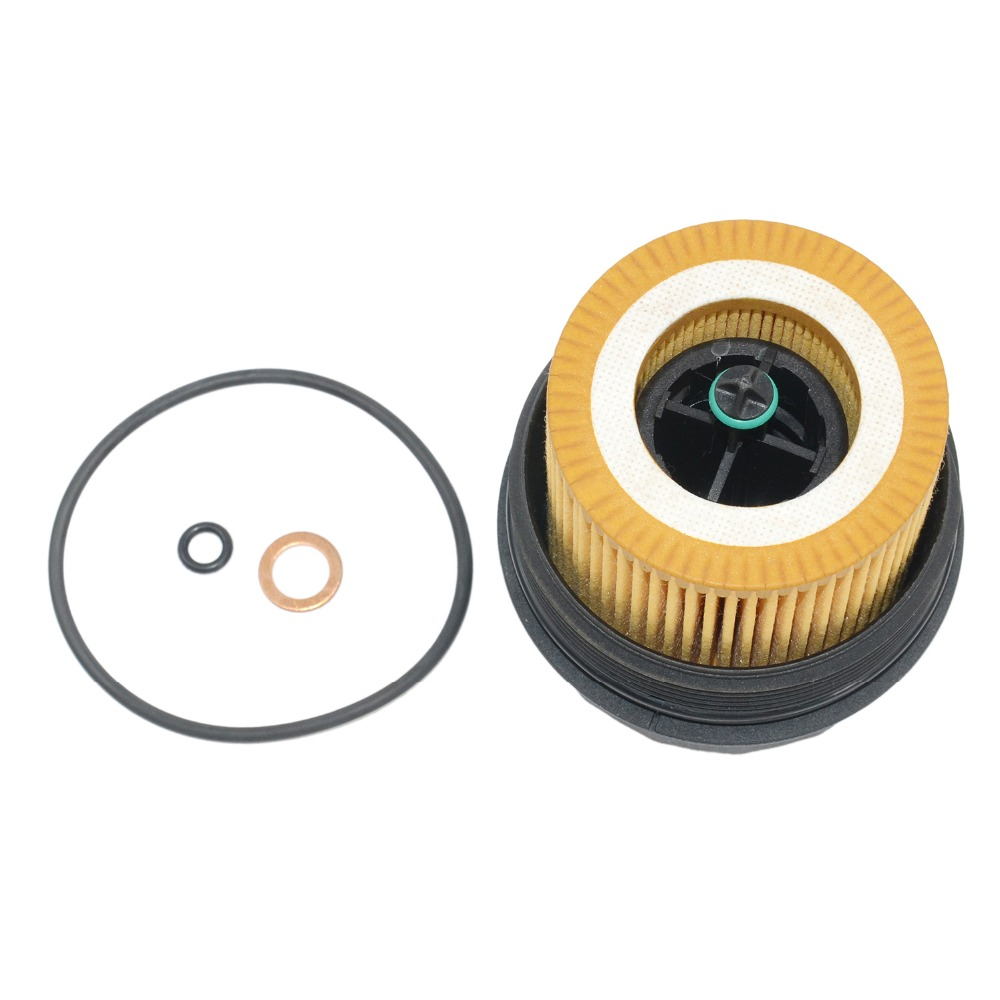 BMW Oil Filter Housing Cover Cap W// Mann Filter HU816x 11427525334 11427541827MN