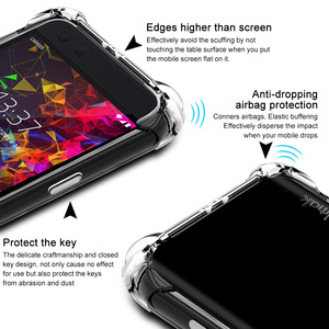Image 3 - IMAK s Razer Phone2 케이스 커버 용 충격 방지 실리콘 소프트 투명 TPU 케이스, Razer Phone 2 용 스크린 보호기 포함