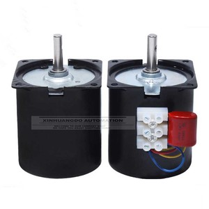 "Image 5 - 220v 14W סינכרוני מנוע 2.5 100 סל""ד נמוך רעש תיבת הילוכים מנוע חשמלי ברביקיו גבוהה מומנט נמוך מהירות סינכרוני AC מנוע"
