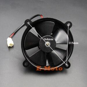 12 В 6 дюймов радиатор термо Электрический вентилятор охлаждения 150cc 200cc 250cc Quad Dirt Bike ATV Buggy новый E-Moto