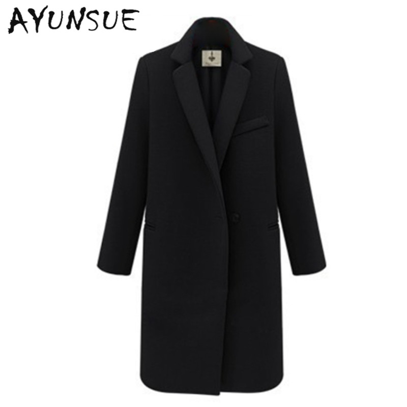Online Get Cheap Ladies Black Coats -Aliexpress.com | Alibaba Group