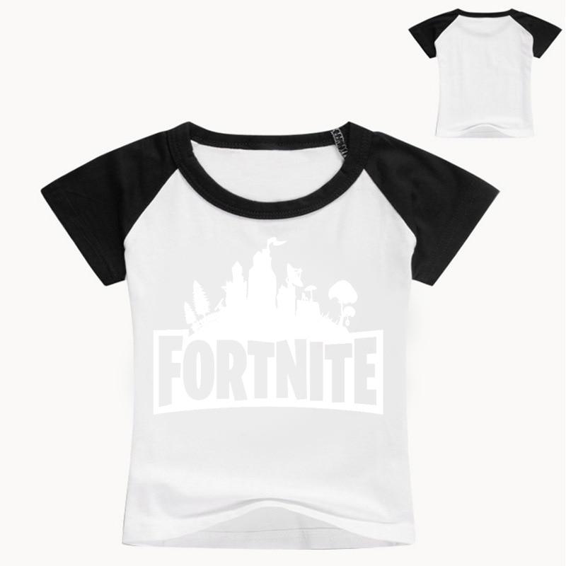Z&Y 2-16Years Nununu 2018 Tee Shirt Fortnite Shirt Kids Tops Baby Summer Clothes for Teenager Boys Tshirt Junior Child Fashion