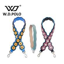 W. D. POLO Nouvelle auto conception femmes sac à main sangle de mode d'épaule sac sangles haute chic conception facile correspondant vente chaude M2187
