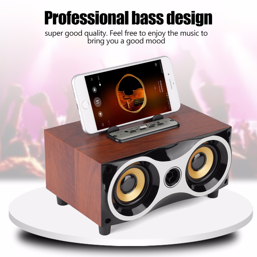 Portable Bluetooth Speaker Column Bass Stereo Subwoofer Wireless Desktop Speaker FM Radio AUX FM USB Music Player Boom Box caixa bluetooth