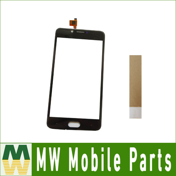1PC/ Lot 5.0For Doogee Shoot 2 Touch Screen Digitizer Replacement Part Black Color With tape