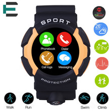 A10 outdoor Sports IP68 Waterproof Smart Watch MTK2502C 360mAH Heart Rate 2016 Bluetooth smartwatch for Ios Android phone