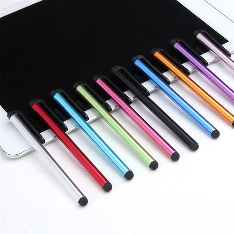 20 unids/lote pantalla táctil capacitiva Canet lápiz óptico para iPad Air 2/1 Pro Mini lápiz táctil para iPhone 7 8 lápiz tableta teléfono inteligente