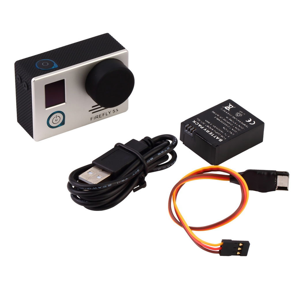 Sports Action Camera 12MP 1080P COMS HD DVR WiFi Aerial Camera FPV For DJI Sharp Vision