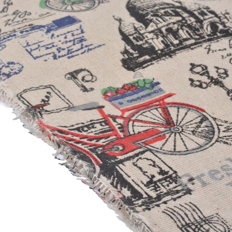 1 STÜCK 98x50 cm Die Baumwolle Gewebt Leinen Tuch Stoff Patchwork ...