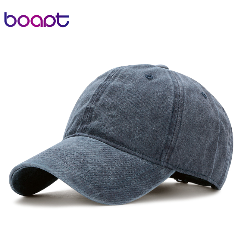 [boapt] classic casual baseball cap for men summer cotton solid fashion blank grey women caps snapback brand unisex hats gorras aetrue winter knitted hat beanie men scarf skullies beanies winter hats for women men caps gorras bonnet mask brand hats 2018