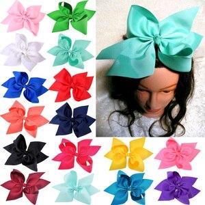 10 Inch Large Grosgrain Ribbon Women Hair Bows Barrettes Girls Boutique Hairpins Hair Clips Children Kids Hair Accessories