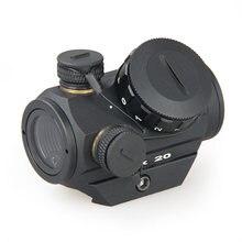 Canis Latrans Tactical polowanie airguns akcesoria celownik optyczny HD Reflex sight kolimator red dot airsoft optyka broń 20mm