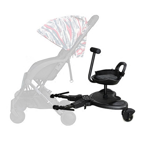 Baby Stroller Trailer Second Child Seat ,artifact Twin  360 Degree Rotate Seat Pedal Baby Child Stroller Second Seat
