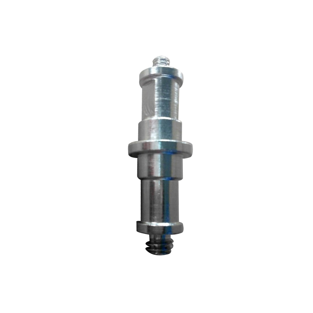 """Light Stand Spigot Sizes: 1/4"""" And 3/8"""" Spigot Stud Adapter Male Screw Threaded To"""