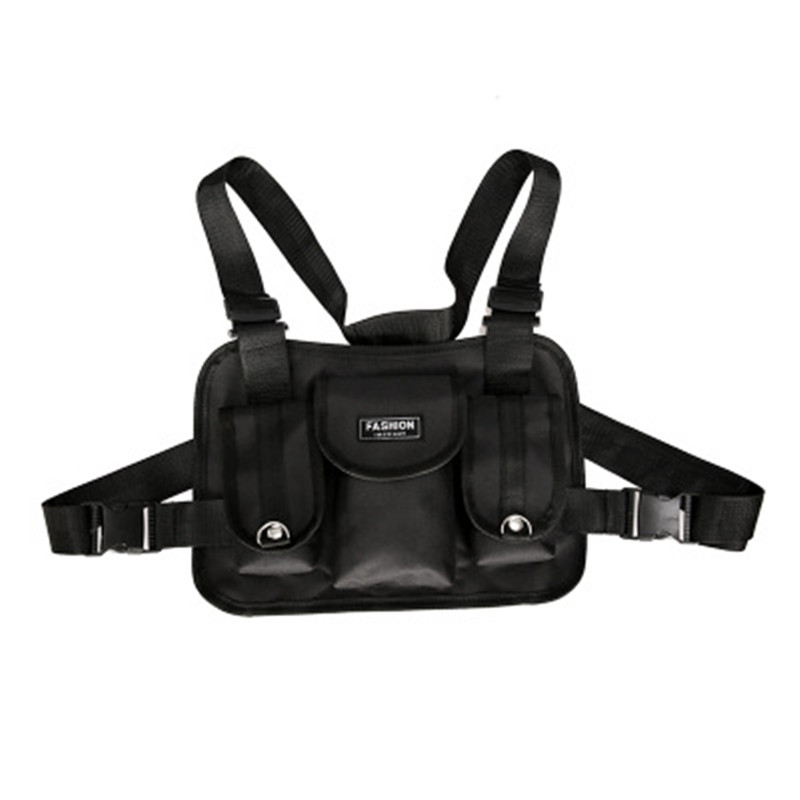 WENYUJH 2019 Fashion Chest  Waist Bag Front  Hip Hop Streetwear   Chest Bag Cross Shoulder Bags Bolso