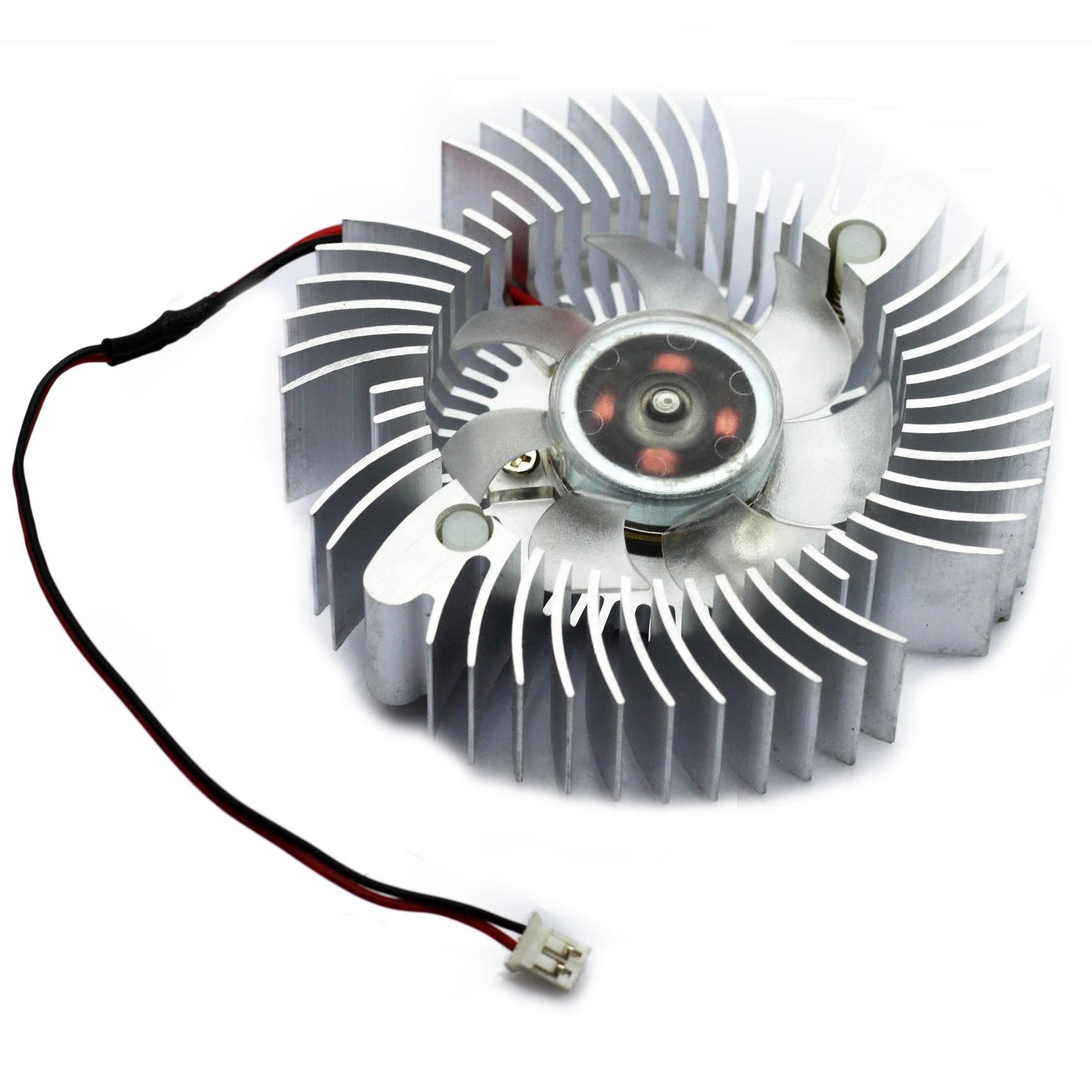 10pcs 40mm Aluminum 2pin Computer PC VGA Video Card Heatsink Cooler Cooling Fan