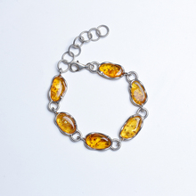JIUDUO jewelry natural amber bracelets  925 sterling silver bracelet for women identification design factory direct special pack jiuduo fashion natural baltic amber beeswax female necklace pendant 925 silver design factory direct special package mail