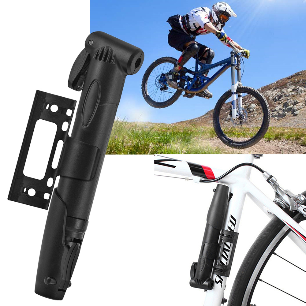 Mini Portable Bicycle Pump Air Pump Tyre Tire Ball High-pressure Pumps Bike Super Light MTB Road Bike Cycling Pumps Tool