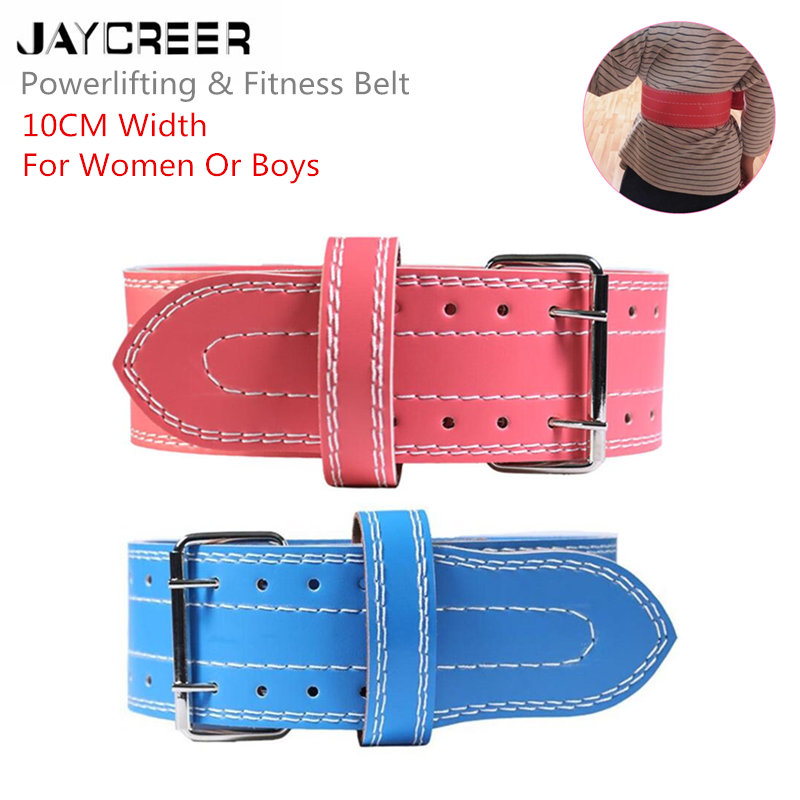 JayCreer 10CM Width Powerlifting & Weighting Lifting Waist Gym Belt Great For Heavy Squats Deadlift Snatch Clean Jerks