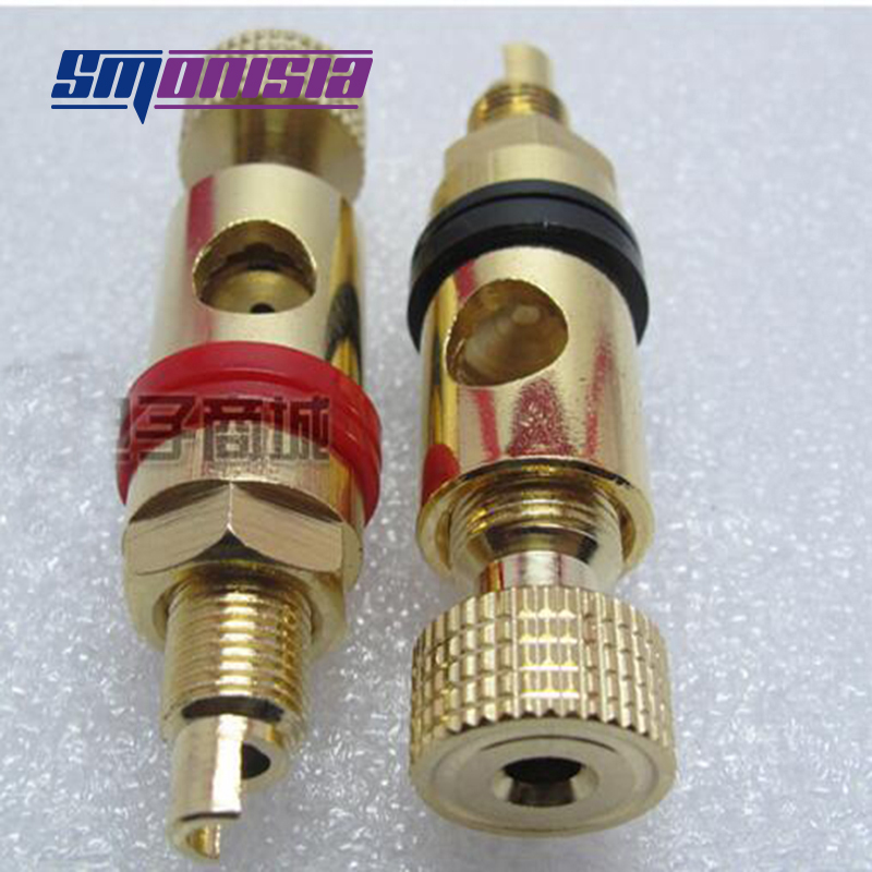 Smonisia 5pcs 50pcs Brass Binding Post Speaker Power Plug