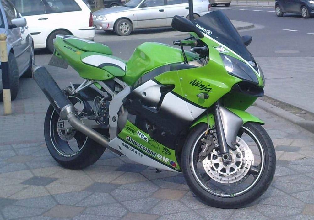 Fit for kawasaki ZX-6R 2000 2001 2002 high quality ABS Plastic motorcycle Fairing Kit Bodywork ZX6R 00 01 02 CB12 green fuchs paint for kawasaki zx6r fairing kit 2000 2001 2002 00 01 02 ninja zx 6r 636 fairings body kits zx636 g5m2
