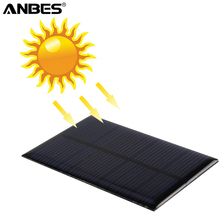 Solar Panel Portable Solar Cells Battery Phone charger 6V 0.6W Module DIY Small Cell Charger For Light Battery Phone Panel Solar