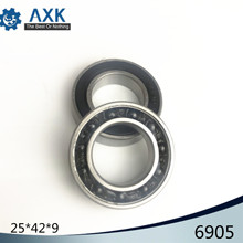 6905 Hybrid Ceramic Bearing 25x42x9 mm ABEC-1 ( 1 PC ) Bicycle Bottom Brackets & Spares 6905RS Si3N4 Ball Bearings цена и фото