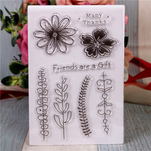 Rubber Silicone Clear Stamps for Scrapbooking Tampons Transparents Seal Background Stamp Card Making Diy Flowers rubber silicone clear stamps for scrapbooking tampons transparents seal background stamp card making diy happy birthday