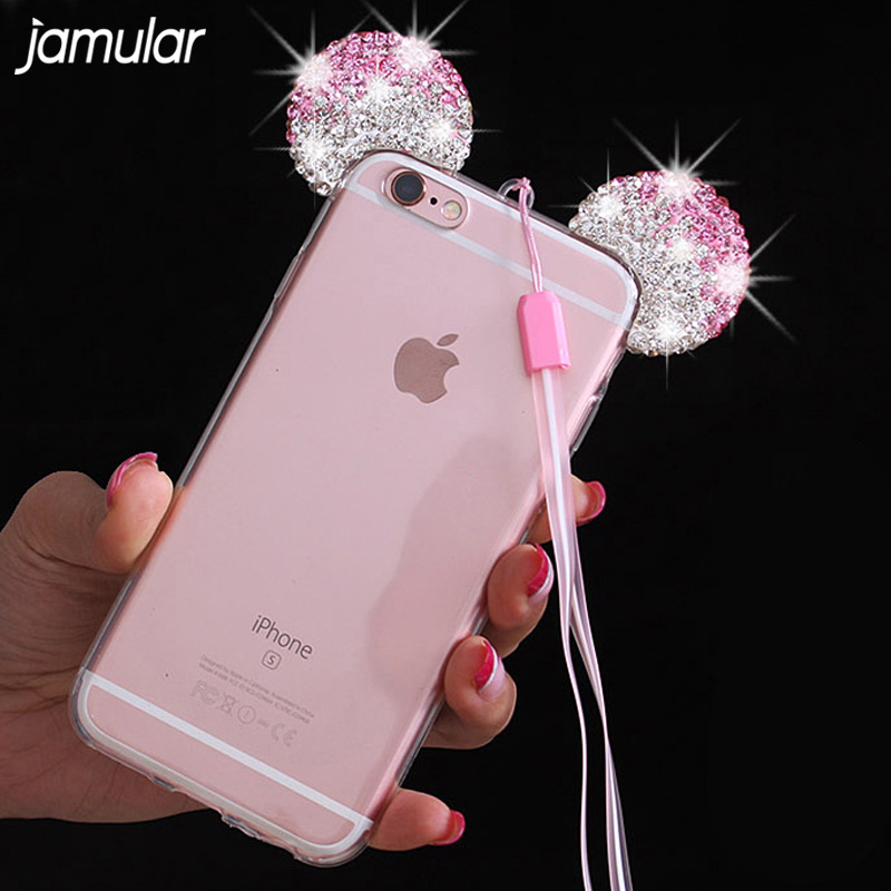 Minnie Mouse Iphone Case With Ears