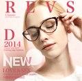 2015 Ретро Горячие Солевые TR90 оптических оправ близорукие очки женщины, леди полный обода оптических очки многоцветный бесплатная доставка 5865