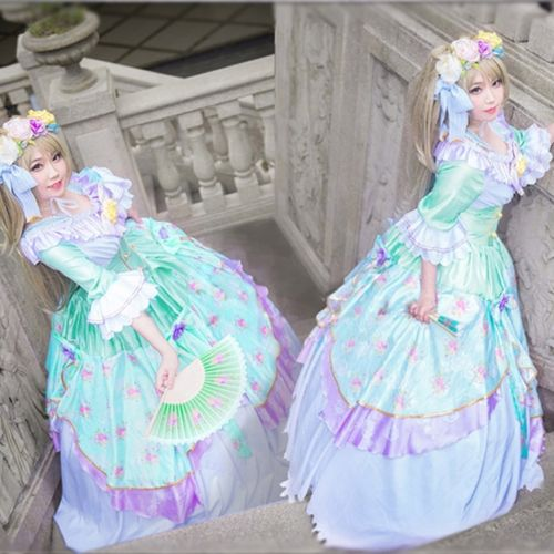 UR Card Princess Rotro Cosplay Costume Dress Customized Love Live Lovelive